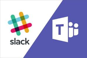 Messagerie collaborative: la guerre fait rage entre Slack et Microsoft