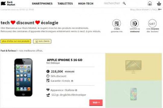 Thierry Petit investit dans Back Market, place de marché d'électronique reconditionné