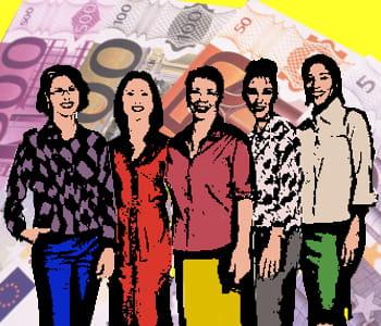 le patrimoine de ces femmes se compte en centaines de millions d'euros.