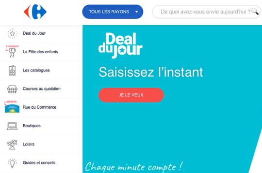 Le nouveau Carrefour.fr : rationalisé... mais toujours trop compliqué