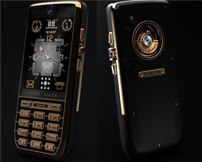 un magnifique mobile calqué sur les montres de luxe de la marque suisse