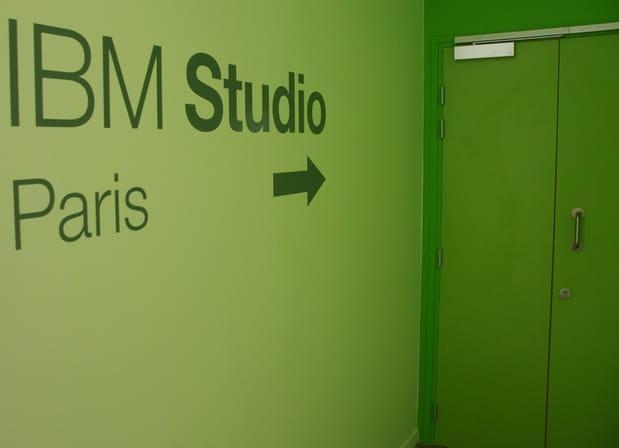 Seconde phase du parcours: l'IBM Studio