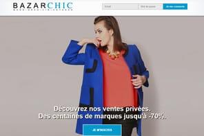 Bazarchic tisse site et newsletters sur-mesure grâce à l'IA