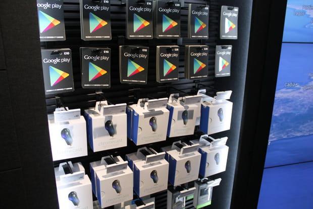 Google Play et accessoires