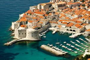 une vue de croatie.