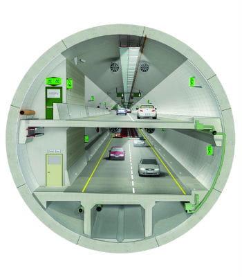 le tunnel à double pont eurasia sera construit sous le bosphore, à istanbul.