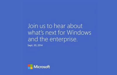 windows 9 event