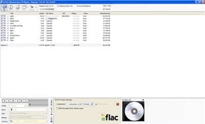 capture d'écran du logiciel dbpoweramp music converter