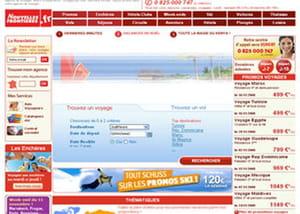 page d'accueil nouvelles frontières