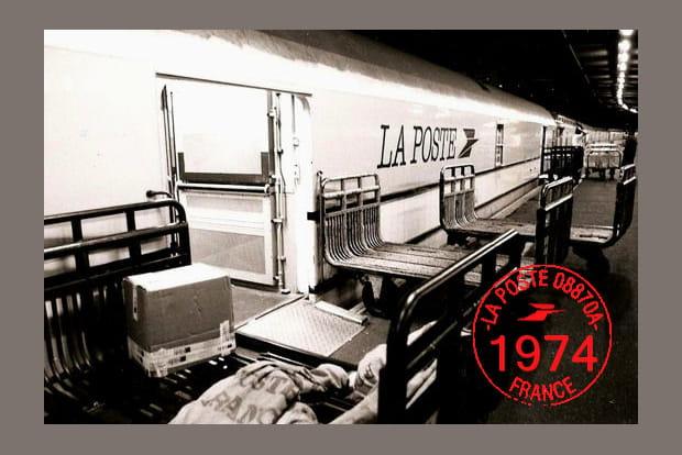 Trains postaux en 1974