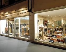 la boutique du 17e arrondissement de paris.