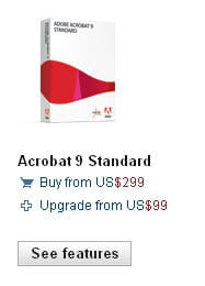 le logiciel officiel permettant de créer et publier des pdf coûte un peu cher