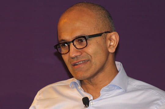 Microsoft : Satya Nadella passe son grand oral devant les DSI français