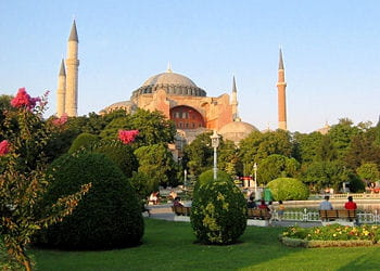 le musée sainte-sophie, ancienne basilique, à istanbul