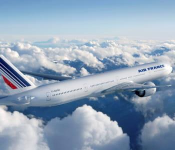 un boeing 777-300er d'air france.