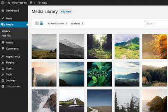 WordPress 4.0 : la gestion des médias encore améliorée