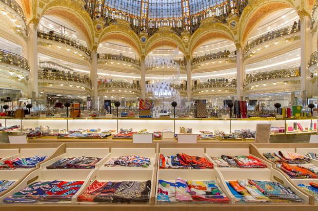 Les Galeries Lafayette du boulevard Haussman