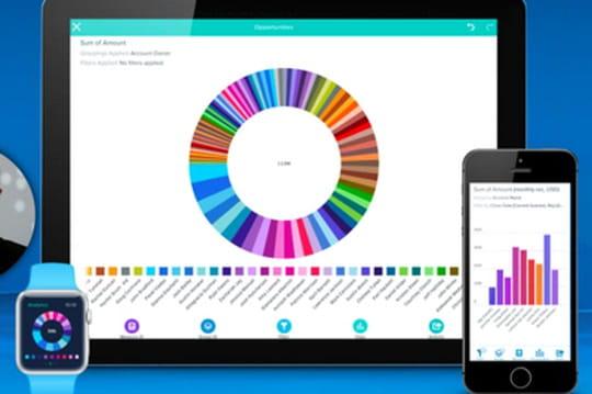 Salesforce Wave : première app d'entreprise pour l'Apple Watch