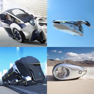 ces moyens de transport ne ressemblent à rien de connu jusqu'à présent.