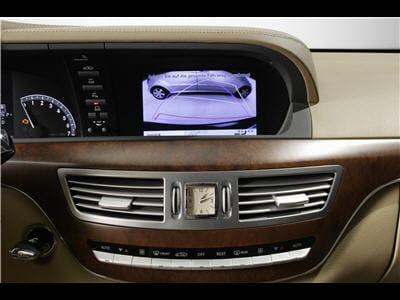 affichage sur l'écran du véhicule