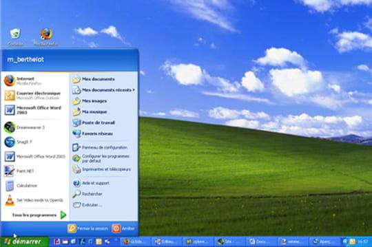 Windows XP : toujours le deuxième OS le plus utilisé