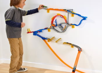 le wall tracks de hot wheels.
