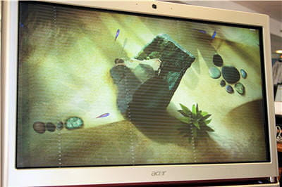 les fonds d'écran animés du z5610