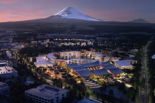 Au CES, Toyota présente une mini smart city pour tester ses technologies