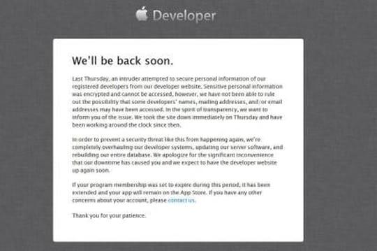 Apple piraté, les identifiants des développeurs exposés