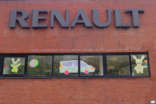 Le buzz publicitaire chez Renault