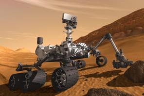 Curiosity: le premier forage de Mars jamais réalisé