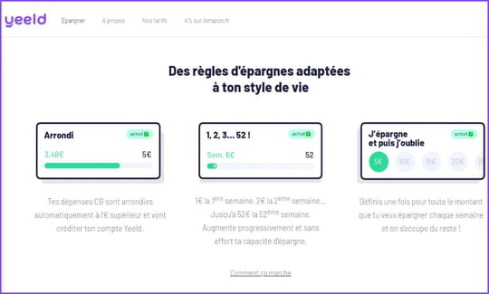 Info JDN: Yeeld lève 1,6million d'euros pour lancer son appli d'épargne
