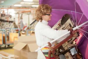 la surface de stockage de l'entreprise est plus importante que l'usine