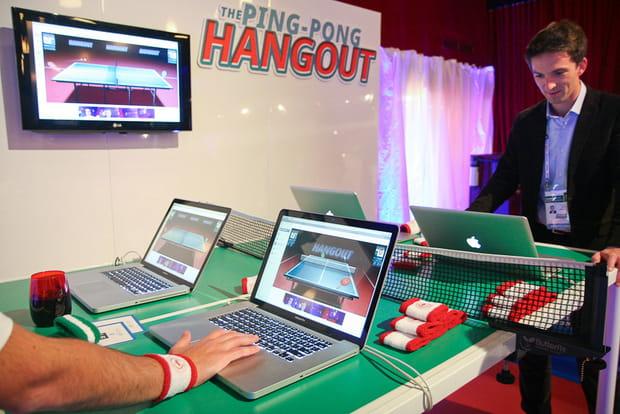 LeWeb Paris 2012 : Ping-Pong Hangout