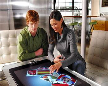 table interactive de microsoft : surface.