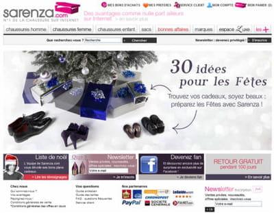 sur sarenza.com