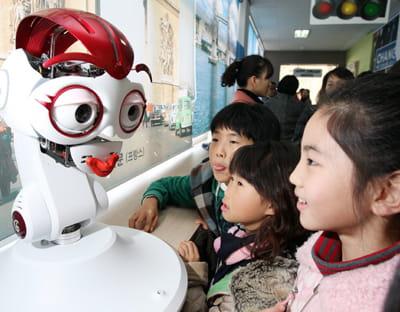 en 2012, ce robot sera vraiment enseignant en corée du sud