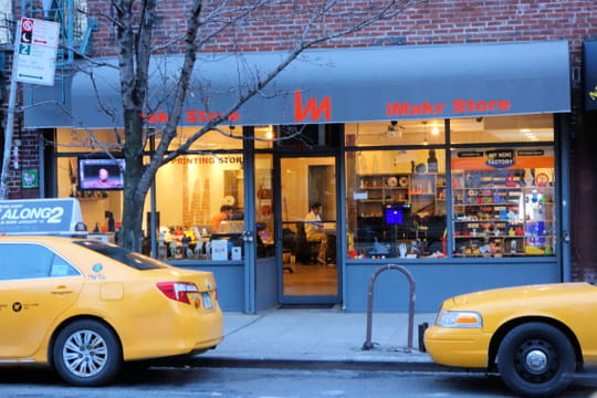 L'iMakr Store, le point de ralliement de l'impression 3D à New York
