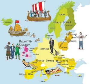 l'europe multipolaire vue par niels ferguson.