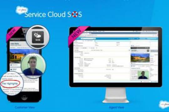 Salesforce lance un bouton d'appel à l'aide à insérer dans les app mobiles