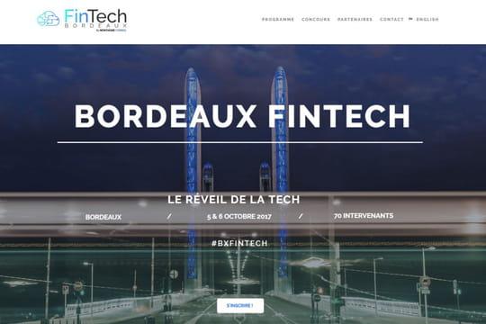 Bordeaux fintech: la 3e édition se déroulera les 5et 6octobre prochains