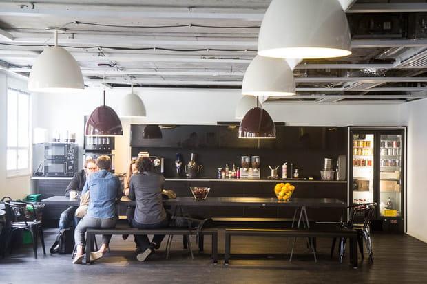 Une cafétéria en libre accès