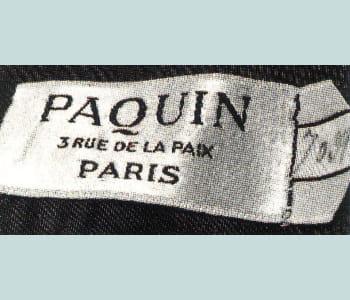 la marque paquin jouit d'une excellente réputation dans le monde de la mode.