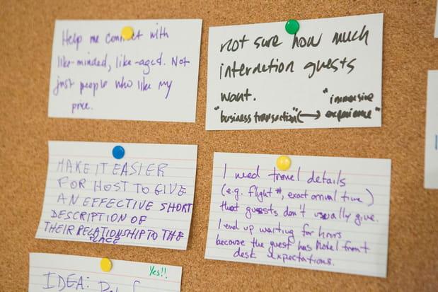 Des murs de suggestions