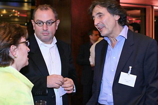 Corinne Delaporte, Rafi Haladjian et Patrick Robin