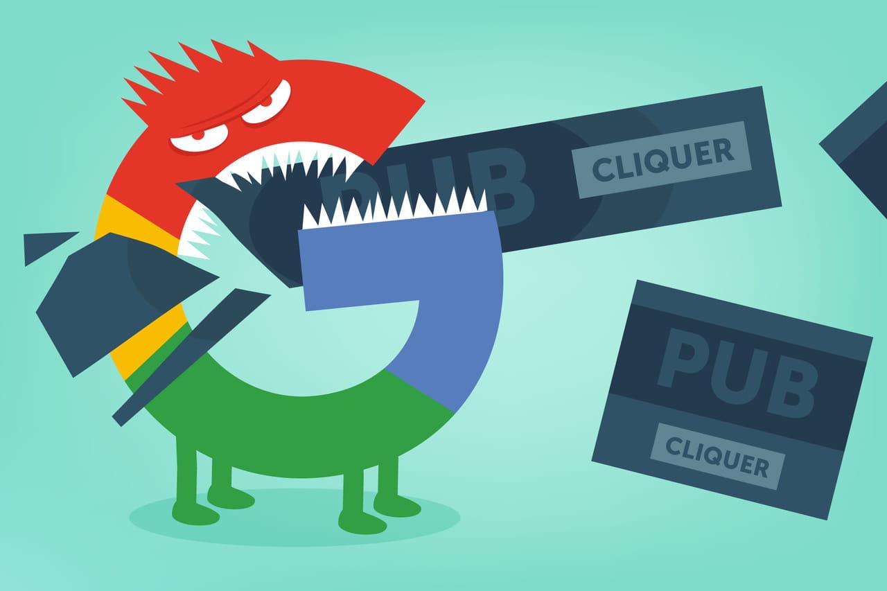 Comment Google s'empare du marché français de la pub