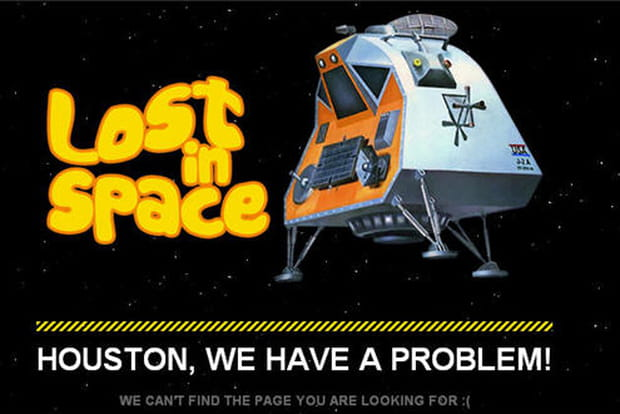 404 lost in space
