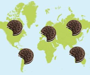 les biscuits oreo sont déjà présents dans plus de 100 pays dans le monde.