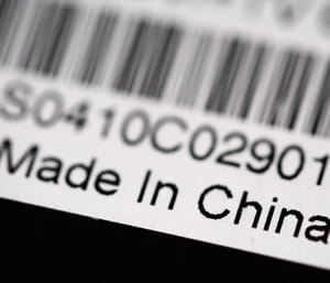 pour les industriels, difficile d'échapper au made in china.
