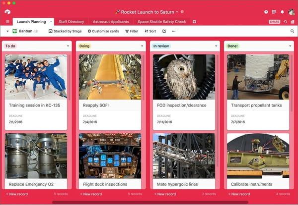 Airtable, l'app qui veut détrôner Excel et Google Sheets